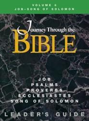 Journey Through the Bible Vol 6 Teacher