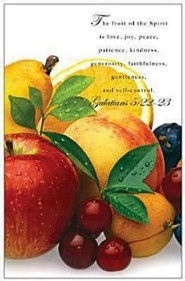 Fruit of the Spirit Scripture Bulletin  -     By: Abingdon Press