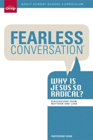 Fearless Conversation Adult Sunday School Curriculum, Q1 Student Book