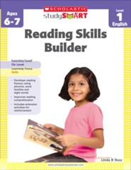 Scholastic Study Smart: Reading Skills Builder Level 1