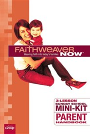FaithWeaver NOW Mini-Kit Parent Student Books, pack of 5