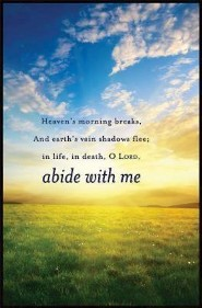 Abide with Me Bulletin, Regular (Package of 50)