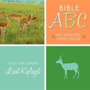 Bible ABC: My Memory Verse Book