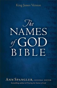 KJV Names of God Bible Hardcover