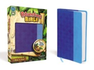 NIV Adventure Bible, Italian Duo-Tone, Electric blue/Ocean blue  -              By: Lawrence O. Richards