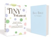 NIV Tiny Testament Bible, Blue