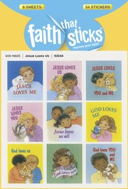 Stickers: Jesus Loves Us