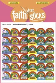Stickers: Rainbow Miniatures