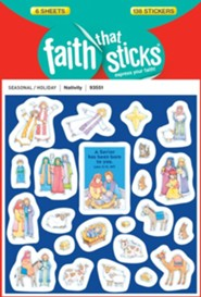Stickers: Nativity