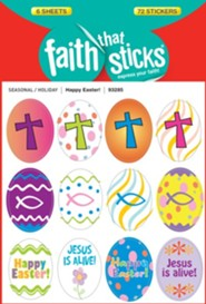 Stickers: Happy Easter