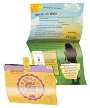 Cave Quest VBS 2016: Bible Quest Maps, pack of 50, enough for 10 kids