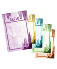 Cave Quest VBS 2016: Crew Signs, set of 10