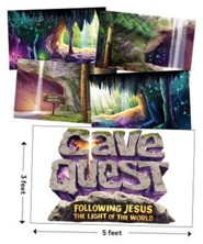 Cave Quest VBS 2016: Giant Decorating Poster Pack, set of 5