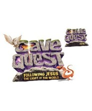 Cave Quest VBS 2016: Iron-On Transfers, pack of 10