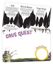 Cave Quest VBS 2016: Name Badges, pack of 10