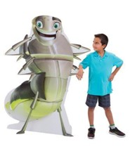 Cave Quest VBS 2016: Ray the Glow Worm 3-D Display