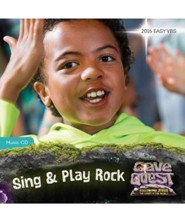 Cave Quest VBS 2016: Sing & Play Rock Music CD