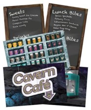 Cave Quest VBS 2016: Cavern Cafe Station Poster Pack, set of 5, 22 x 34