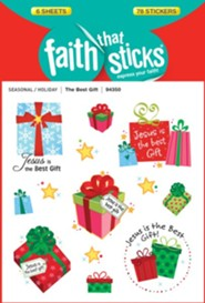 The Best Gift, Christmas Stickers