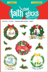 Stick-n-Sniff Wreaths  -     By: Pam Coffin (Illustrator)     Illustrated By: Pam Coffin