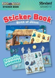 Birth of Jesus, Sticker Book