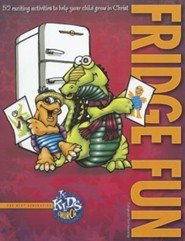 Wonderfully Made Fridge Fun Book  -