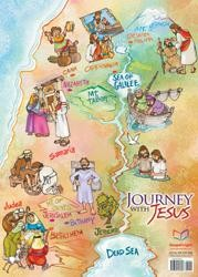 Journey with Jesus Map  -