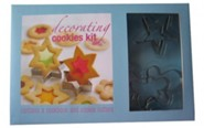 Decorating Cookies Kit [With 4 Cookie Cutters]