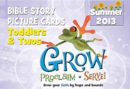Grow, Proclaim, Serve! Toddler's & Two's Bible Story Picture Cards - Summer 2013  -