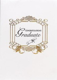 Abingdon Select Collection Certificate - Graduation  -