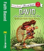 David y la victoria gigante de Dios: David and God's Giant Victory  -