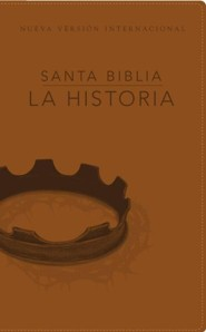 Biblia La Historia NVI, Piel Italiana Negra  (NVI Going Deeper, The Story Bible, Ital. Leather Negra)