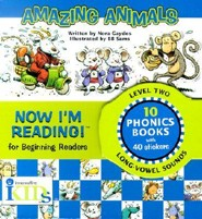 Now I'm Reading!: Amazing Animals - Level 2 [With Stickers]