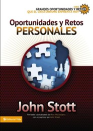 Grandes oportunidades y retos para el cristianismo hoy, Issues Facing Christians Today: Personal