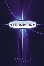 Biblia de referencia Thompson Milenio RVR 1960 con Indice, Hardcover, Printed, With Thumb Index