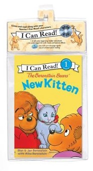 The Berenstain Bears New Kitten Book and CD   -     By: Jan Berenstain, Mike Berenstain     Illustrated By: Jan Berenstain
