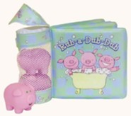 Rub-A-Dub-Dub Bath Book [With 3 Pink Pigs]