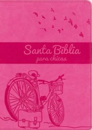 NVI Biblia Chica Latina, Italian Duo-Tone, Orchid/Hot Pink - Imperfectly Imprinted Bibles