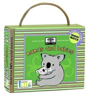 Mamas and Babies Board Book [With 20 Memory Cards]
