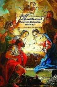 Wonderful Counselor Christmas Nativity Bulletins (Package of 50)