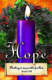 Advent Sunday 1 Purple Bulletins (Package of 50)