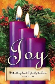 Advent Sunday 3 Purple Bulletins (Package of 50)  -