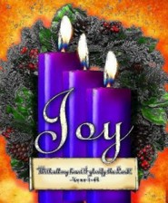 Advent Sunday 3 Purple Bulletins, Large Size (Package of 50)  -