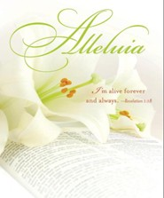 Alleluia Easter Lilies Bulletins, Large (Package of 50)