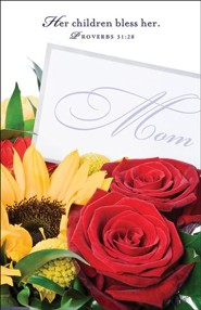 Flowers Mother's Day Bulletins (Package of 50)  -