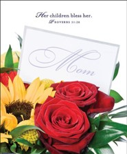 Flowers Mother's Day Bulletins, Large (Package of 50)