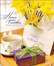 Breakfast Tray Mother's Day Bulletins, Large (Package of 50)