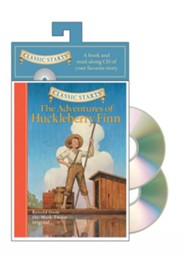 Adventures of Huckleberry Finn w/CD  -     By: Mark Twain