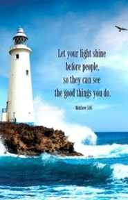 Lighthouse Scripture Series Bulletin, Regular Size (Package of 50)