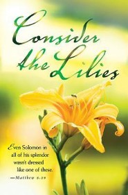 Consider the Lilies Summer Bulletin 2015, Regular (Package of 50)